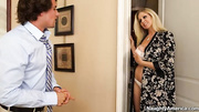 blonde asks for breast