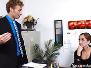 babe, office girls, perky, tits