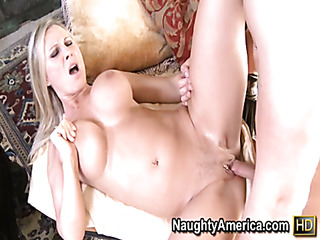 busty chick gets wild