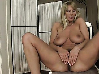 pretty blonde chick gets