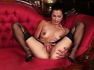slim girl pantyhose strips