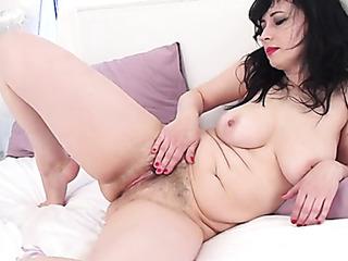 hot brunette strips transparent
