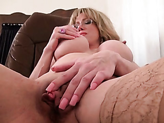 busty mature chick gets