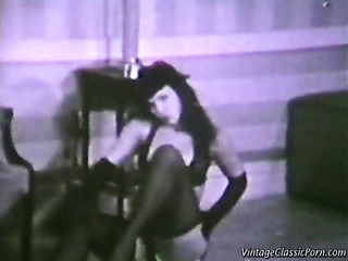 brunette prostitute black lingerie