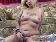 amateur, blonde, housewife, tattoo
