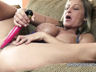 blonde vixen with big