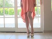 boobs, curvy, dress, individual model