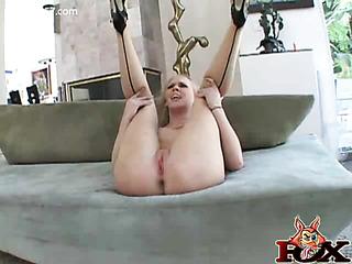 dominatrix stuffs tailed butt