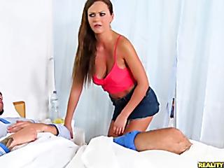 naughty babe gets fucked