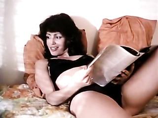 elegant seductive housewife sucking
