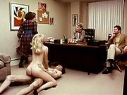 busty, office, slut, vintage