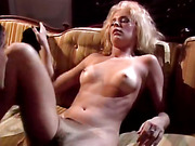 big cock, blonde, screaming, vintage