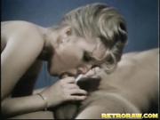 lovely blonde babe enjoys