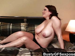 black panties chubby redhead