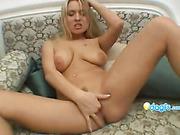 beautiful, big tits, blonde, lingerie