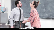 nerdy chick gets screwed