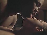 black, celebrity, interracial, kiss