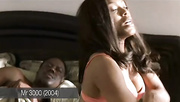 hot ebony babe gets