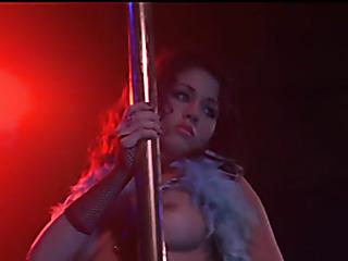 pole dancing bombshell looks