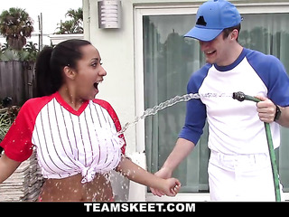 baseball get-up indian chick