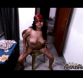 Completely naked Indian MILF seducing the cameraman