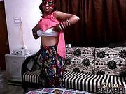 brunette, indian, individual model, undressing