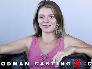 young russian anal casting