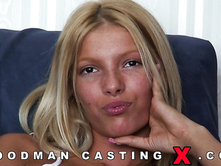 shaved hungarian blonde casting