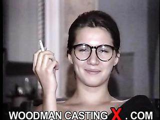 french amateur brunette glasses