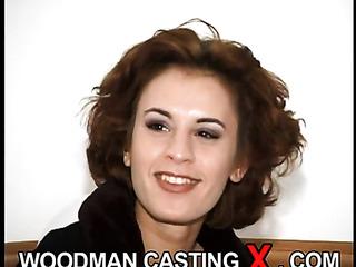 shaved young brunette amateur