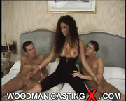 young amateur casting threesome