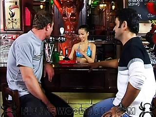 german rough threesome fucking