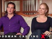 amateur, audition, casting, czech, rough sex