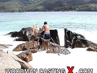 interracial amateur beach group