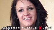brunette adorable amateur casting