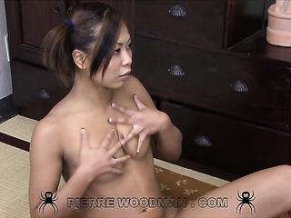 asian young brunette amateur