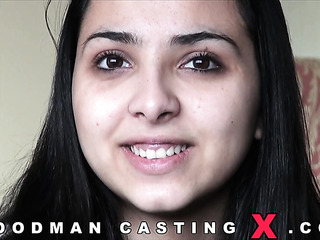 black hair amateur audition