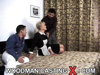 young adorable blonde blowjob