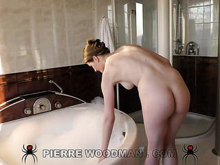 amateur anal bathroom fuck