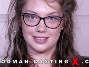 abricotpussy, amateur, casting, glasses, rough sex