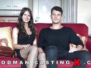adorable, amateur, casting, rough sex, stockings