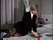 amateur, apartment house, casting, rough sex, stockings