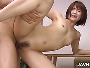 asian, ass, bush, hairy, japanese, small tits