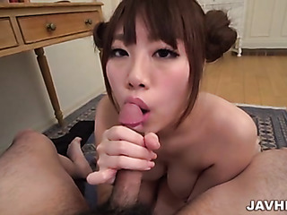 japanese asian handjob pov