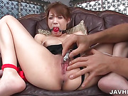 asian, blowjob, cum in mouth, japanese, lingerie, orgasm