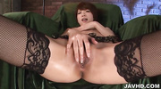 japanese stockings masturbation