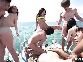 public japanese group sex