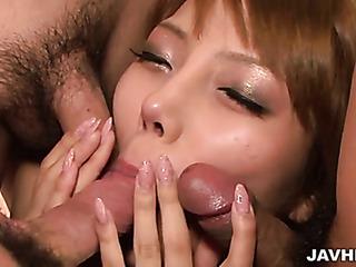 asian passionate blowjob