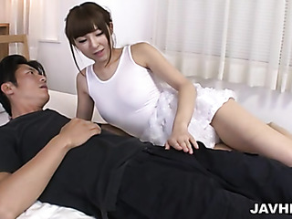 wet japanese mom