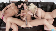 canadian lesbian threesome toys